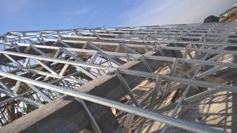 Kombinasi Berbagai Jenis Rangka Atap di Proyek DPS-139 (Perisai, Setengah Kremona, Model Kanopi / Selasaran)